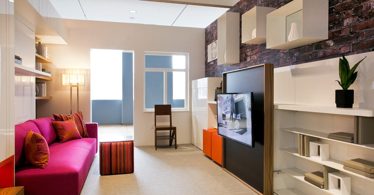 Trying Out Micro Apartments At The Museum Of The City Of New York   WNYC  News   WNYC