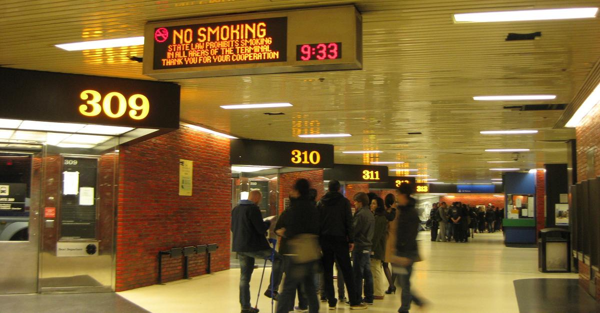 The leonard lopate show why the port authority bus terminal is crumbling crowded unloved - Port authority bus schedule ...