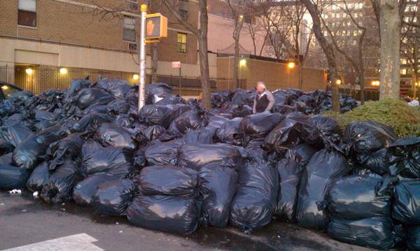 the costs of cleaning up trash in a city