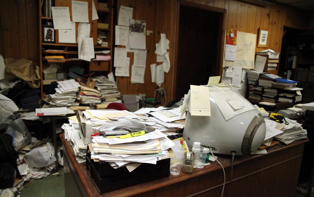 Messy Desks a Sign of Creativity - The Takeaway - WNYC