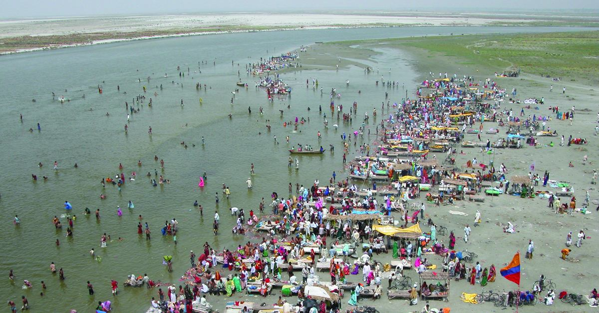 The Ganges River, A 'Monstrous Water Machine' | The Leonard Lopate