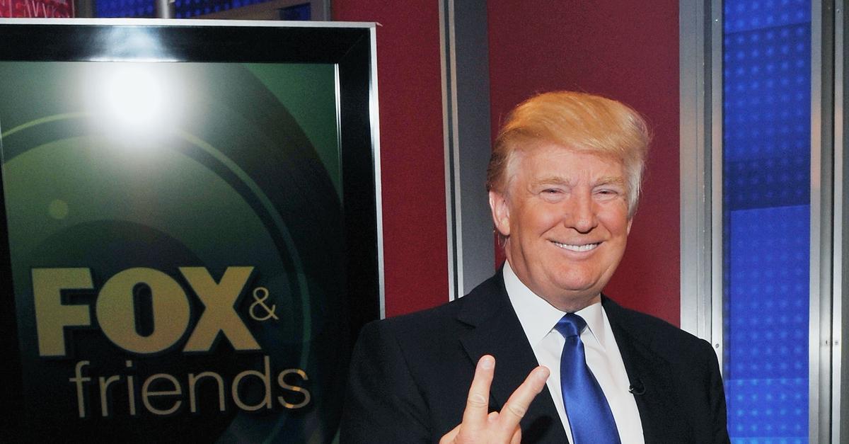 Trump Brings Huge Ratings To Fox News -- And A Civil War