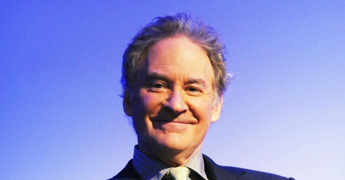 Kevin Kline Takes a Bow, Several Times - Here's The Thing ... Alec Baldwin