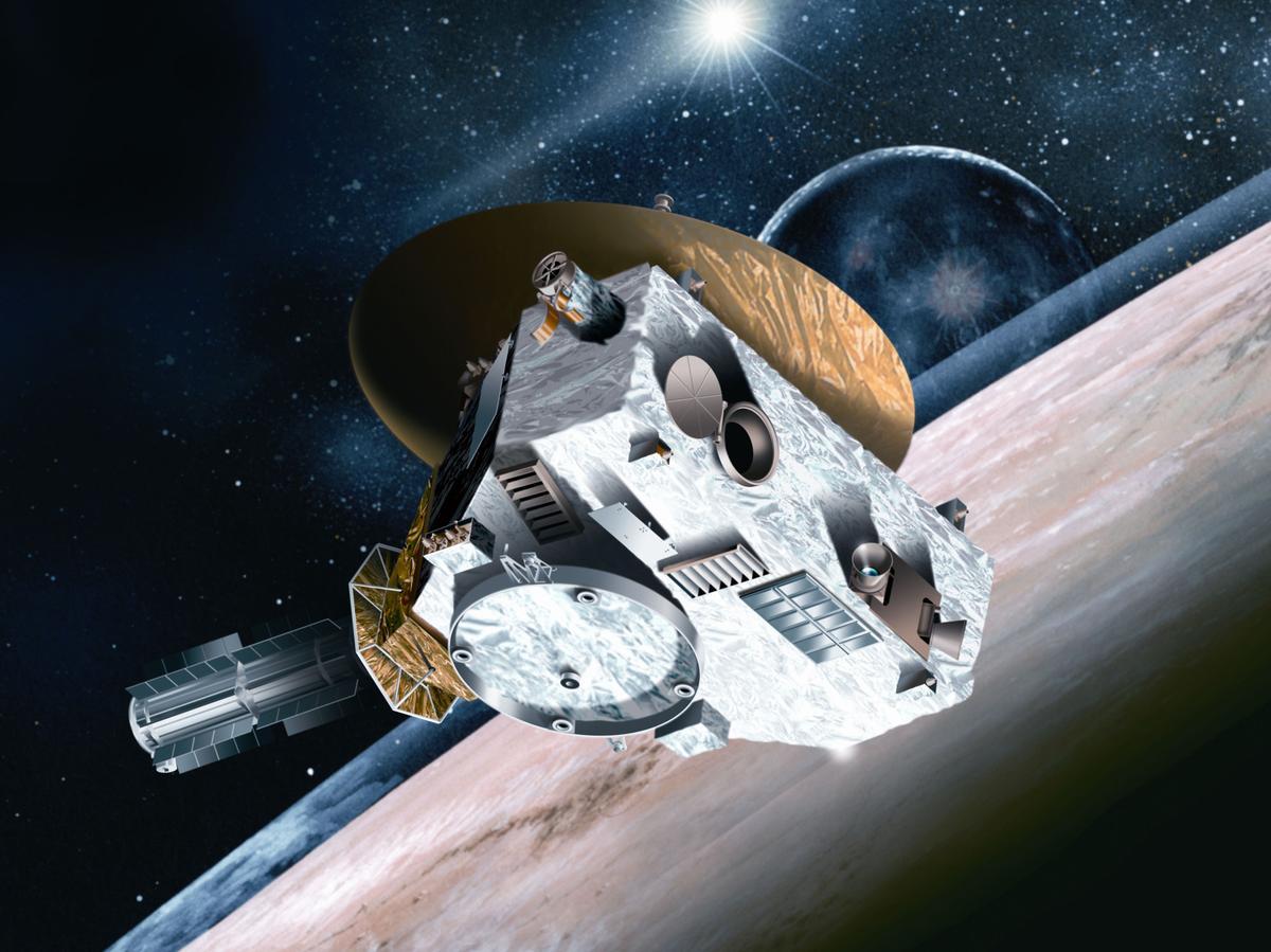 space probe to pluto - 1000×562