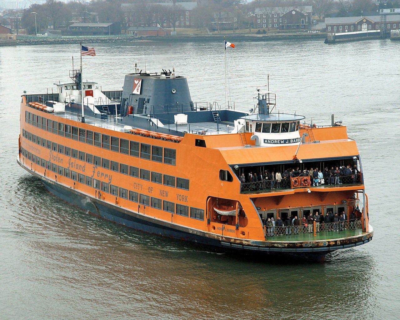 Staten Island Ferry Safety