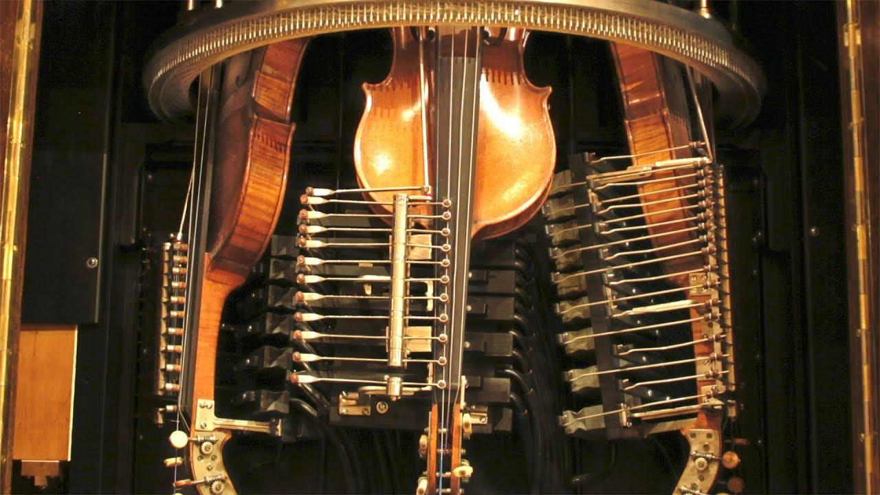 This Self-Playing Violin Is a Musical Marvel | WQXR | New York's Classical Music Radio Station