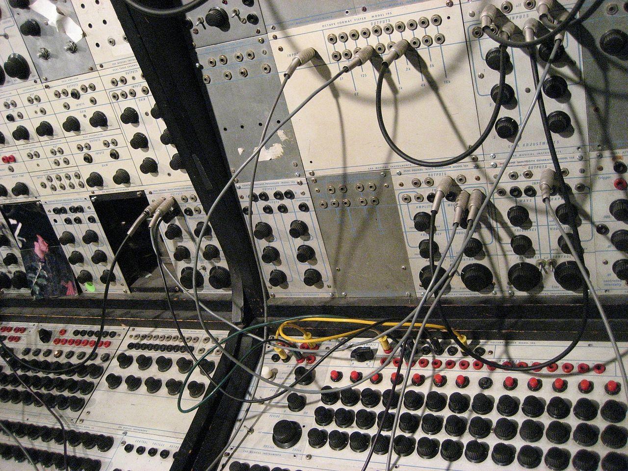 Ingram Marshall I Sine Waves And Tape Loops Meet The Composer Wqxr Recording Studio Wiring