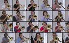 'Bohemian Rhapsody,' arranged for 28 trombones.