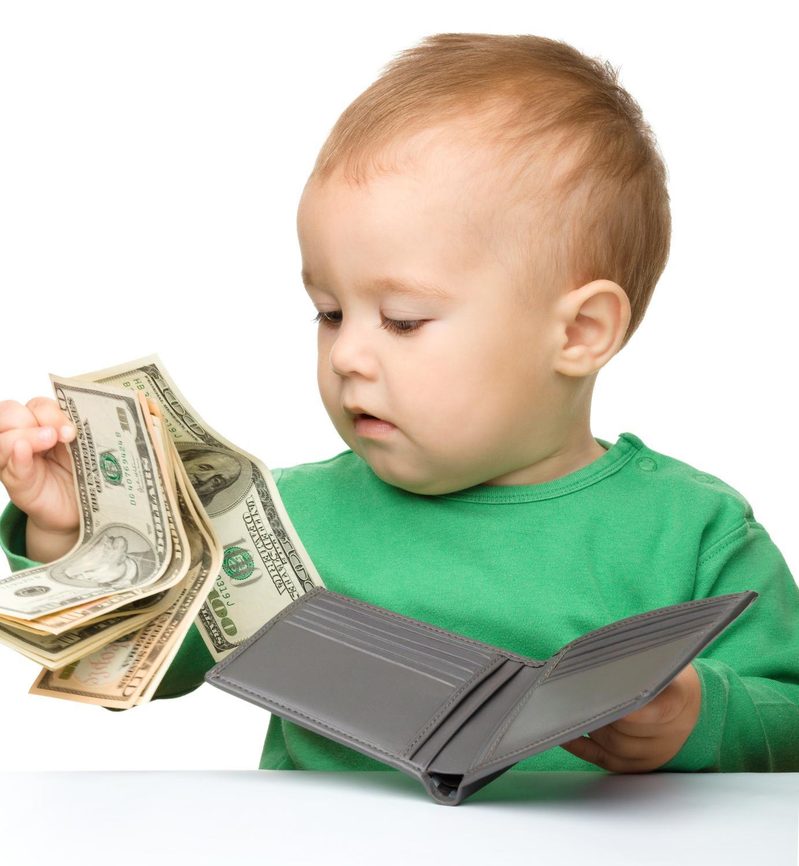 Заработать на фото ребенка