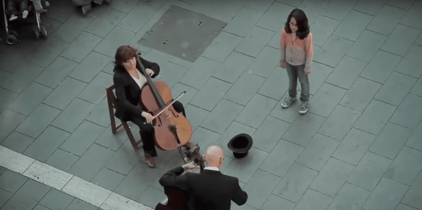 This Little Girl Tipped A Street Musician and Was Surprised With 'Ode To Joy' | WQXR | New York's Classical Music Radio Station