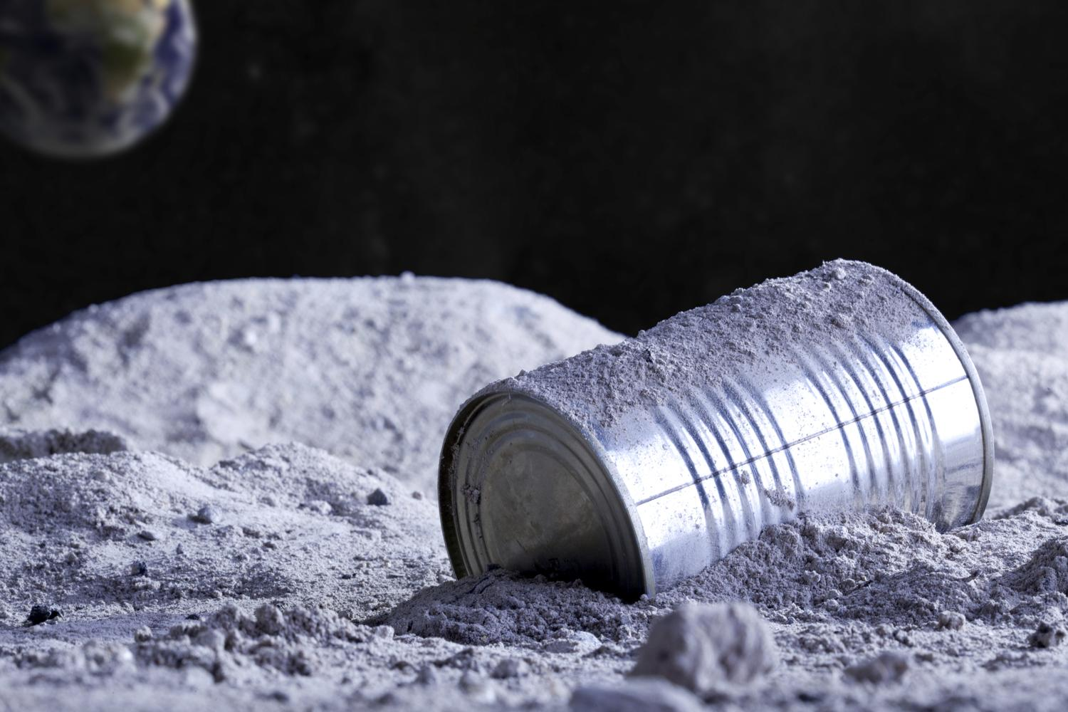 Galactic Garbage Can: There's 400,000 Pounds of Trash on The Moon | The Takeaway | WNYC