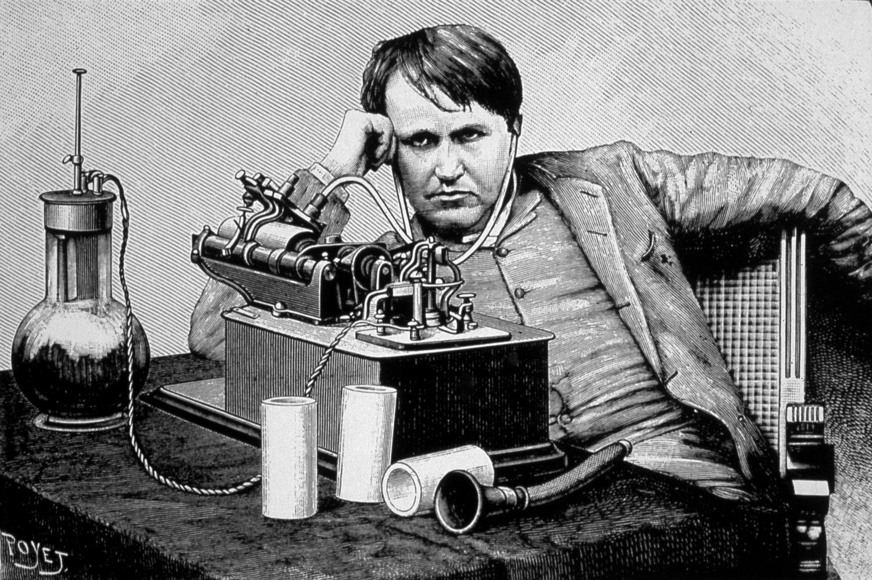The Tony Schwartz Collection | WNYC for Thomas Edison Telegraph  67qdu