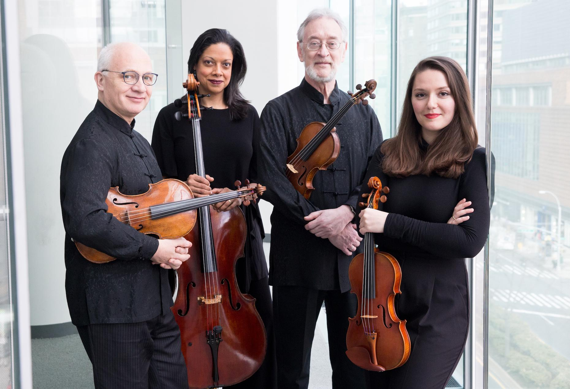 Tomorrow: The Juilliard String Quartet Performs Live | Midday Masterpieces