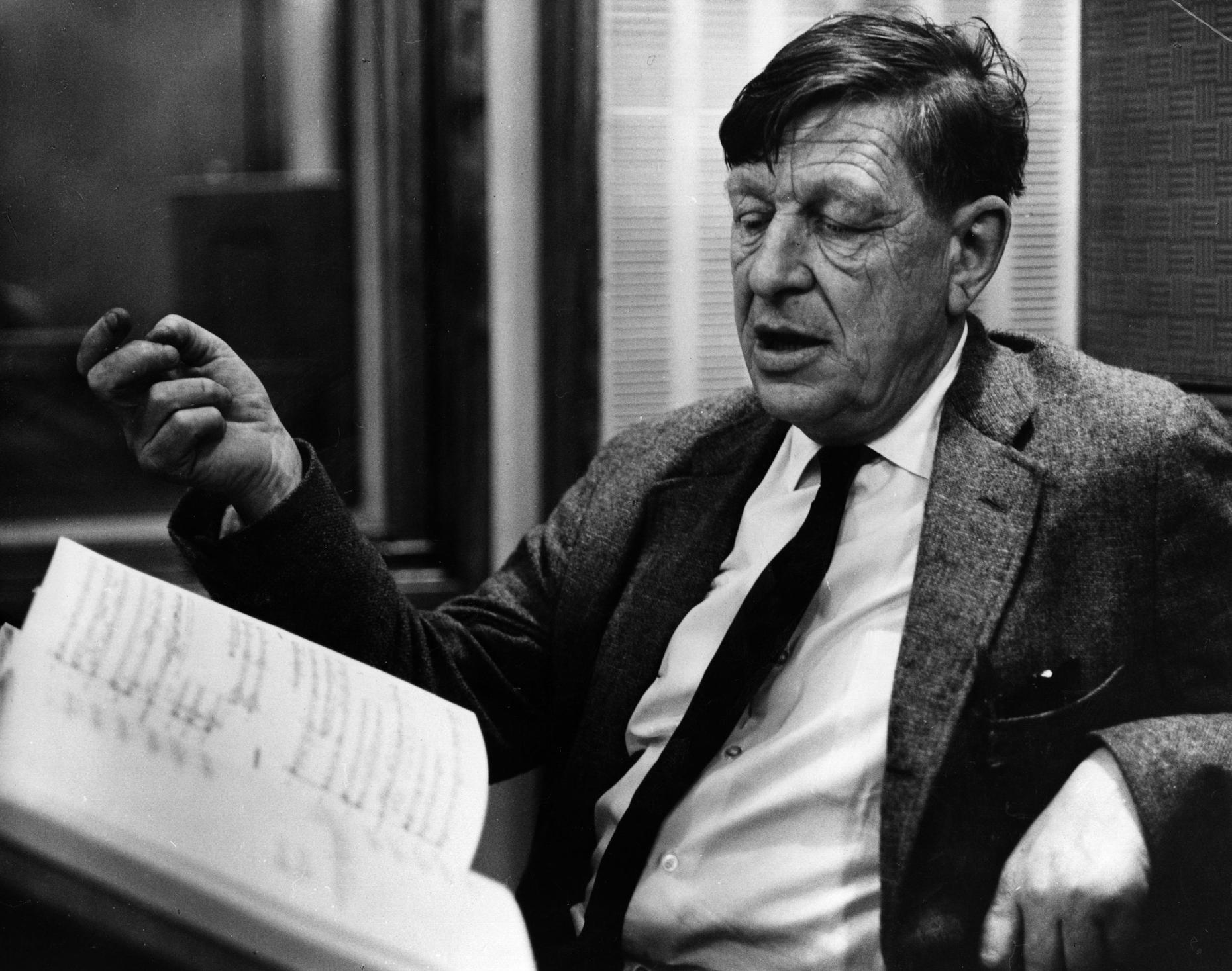 W. H. Auden, an Appreciation | Annotations: The NEH Preservation ...