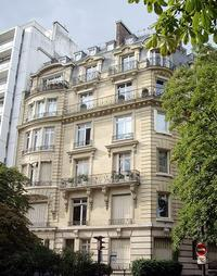 The last residence of Maria Callas, 36 Avenue Georges-Mandel, Paris