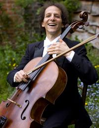 Cellist Colin Carr.