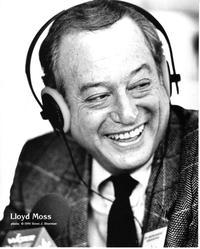 Lloyd Moss, WQXR host, in a 1991 publicity photo