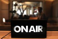WNYC On Air in the studio