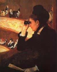 Mary Cassatt, 'In the Loge'