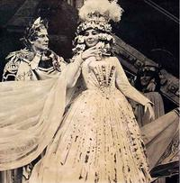 Norman Treigle and Beverly Sills in 'Giulio Cesare' at New York City Opera, 1967