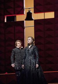 Marina Poplavskaya and Roberto Alagna in Verdi's 'Don Carlo'