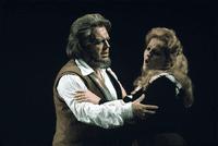 Alida Ferrarini with Luciano Pavarotti