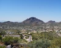 Sentinel Peak near Tucson, Arizona