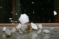 Smashed lightbulb