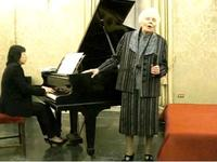 Soprano Magda Olivero at age 99