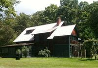 Charles Ives's former house, Redding, CT