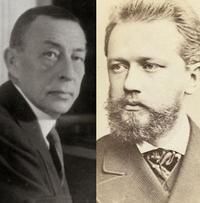 Rachmaninov and Tchaikovsky.