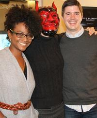 Lauren Baccus, Halloween-ready Amy Eddings, Alan Sherouse