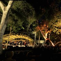 Evening concert at Ojai Festival's Libbey Bowl