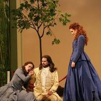 Heidi Stober, David Daniels and Laura Claycomb in Xerxes