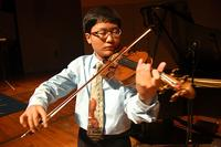 Violinist Jieming Tang from Cleveland, Ohio.