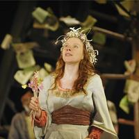 Samantha Young as Perdita in Royal Shakespeare Company's performance of 'The Winter's Tale'