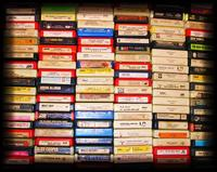 Collection of 8-track tapes