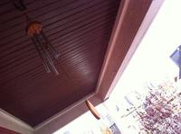 Just moved to Corktown, Detroit. But our new house wasn't our new home until we got the wind chimes up on the back porch. Now all the residents both housed and homeless can enjoy them.