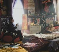 A still from Tim Burton's 'Dark Shadows,' set in 1972.