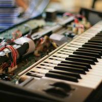 Piano and electronics