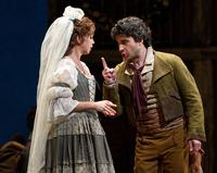 Mojca Erdmann as Zerlina and Joshua Bloom as Masetto in the Met's new production of Mozart's 'Don Giovanni'