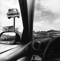 Lee Friedlander, Montana, 2008, from the series America by Car, 1995-2009.