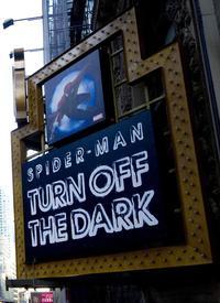 Spider-Man marquee