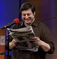 Comedian Eugene Mirman reads from the full-page attack ad he placed in <em>The Greenpoint Gazette</em>.