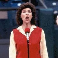 Naomi Lewin sings the National Anthem, Cinergy Field, 1999