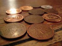 pennies wages coins