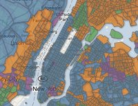 Interactive Census Map Screenshot