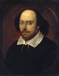 William Shakespeare, 'Chandos portrait'