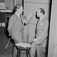 Garson Kanin with Spencer Tracy