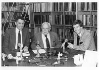 L to R Warren Bowden, E.M. Sanger, and Bob Sherman